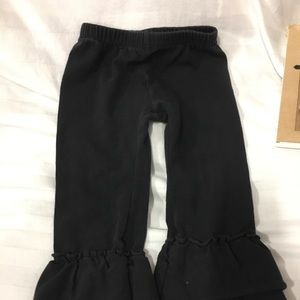 Other - Black ruffle bottoms